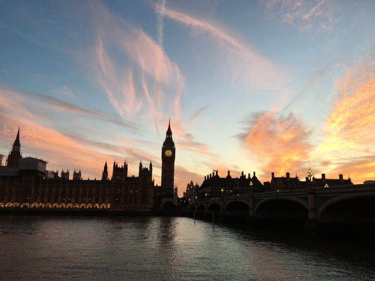 A Westminster Sunset